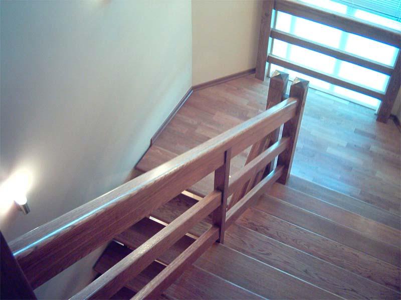 Лестница с перилами своими руками фото 846